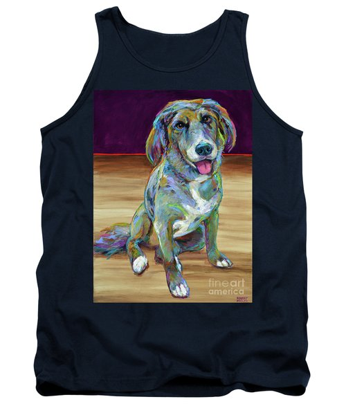Tank Top featuring the painting Doc by Robert Phelps