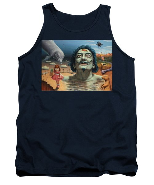 Dolly In Dali-land Tank Top