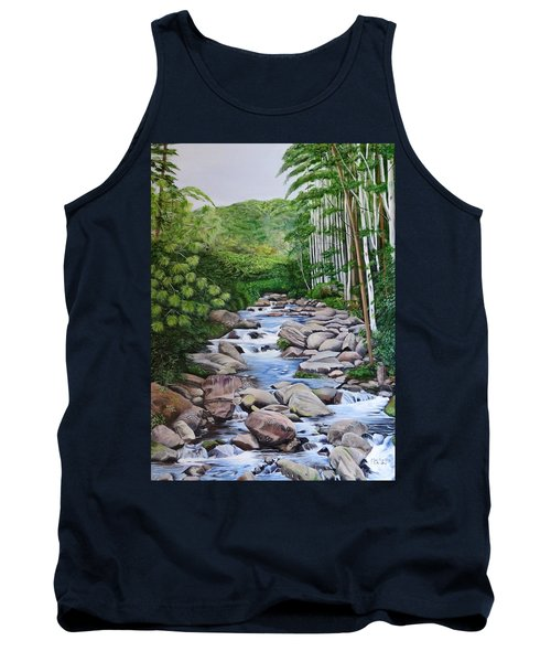 Down Stream  Tank Top by Marilyn McNish
