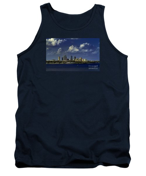 Down Town Tampa Tank Top by Ken Frischkorn