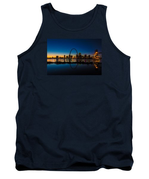 Downtown St. Louis And The Gateway Arch Tank Top