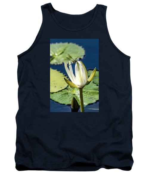 Tank Top featuring the photograph Dragonfly by Susi Stroud