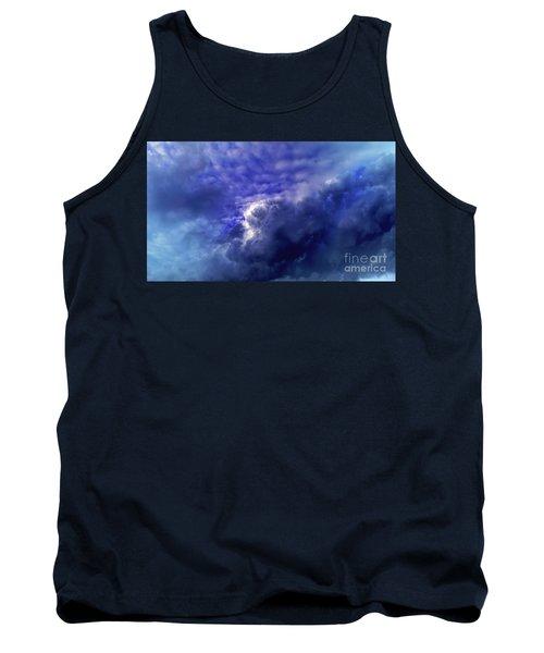 Dramatic Cumulus Sky Tank Top