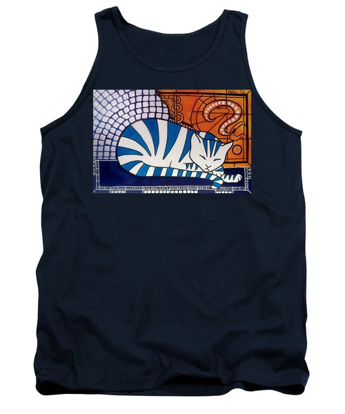 Tank Top featuring the painting Dreaming About by Dora Hathazi Mendes