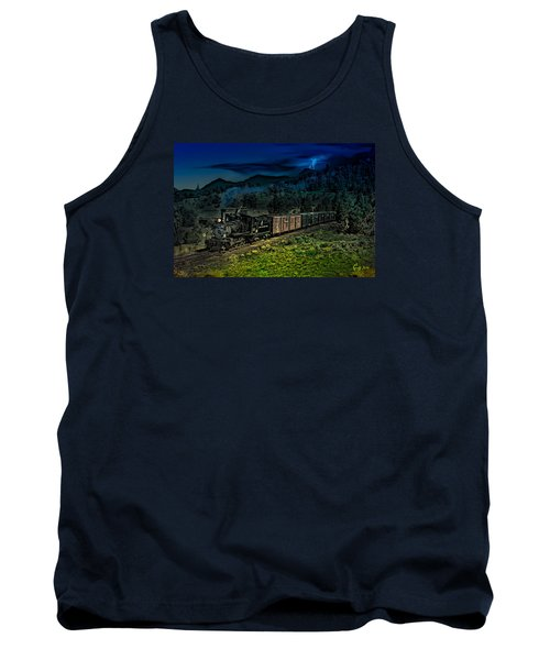 Drifting Down To Antonitio Tank Top by J Griff Griffin