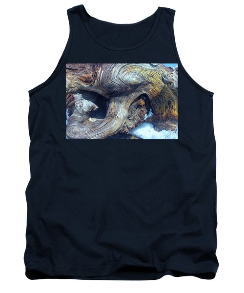 Driftwood Swirls Tank Top by Todd Breitling