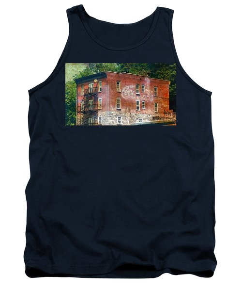 Drink Coca Cola Ghost Sign Tank Top