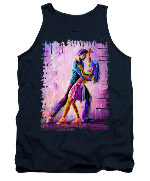 Dripping Dance Tank Top
