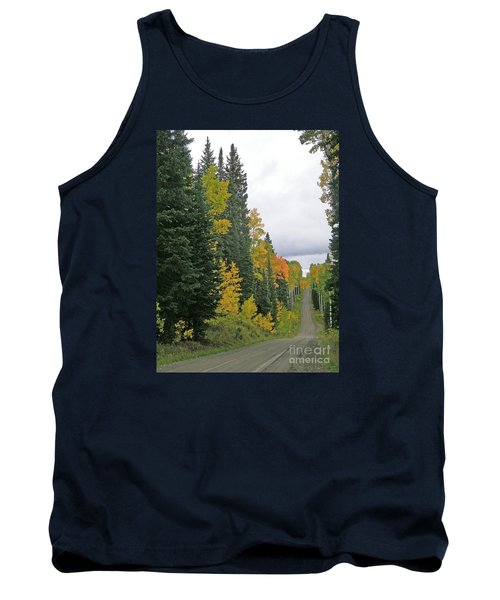 Early Fall Color Display In Colorado Tank Top