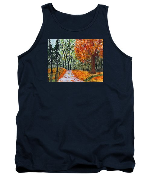 Early October Tank Top by Jack G  Brauer