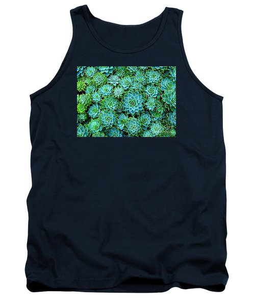 Echeveria 2 Tank Top by Ranjini Kandasamy
