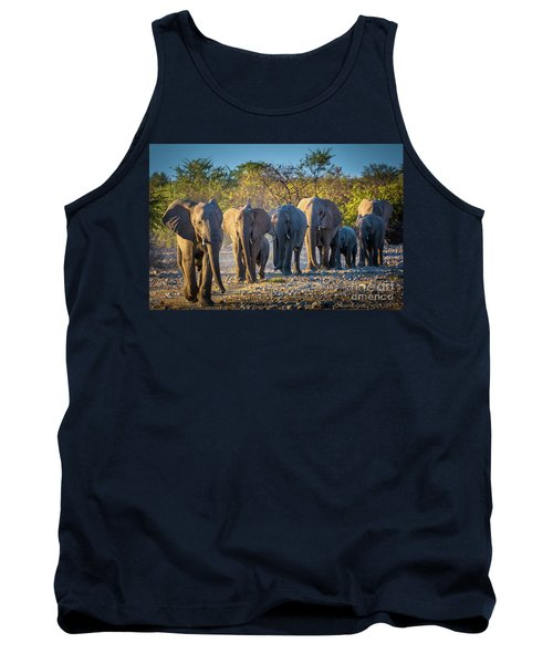 Eight Elephants Tank Top