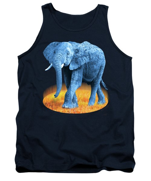 Elephant - World On Fire Tank Top
