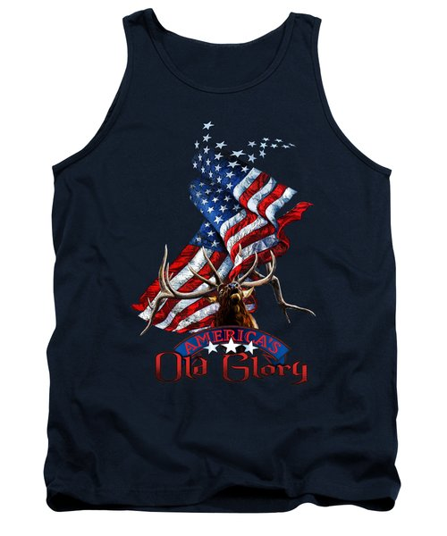 Elk Old Glory Tank Top