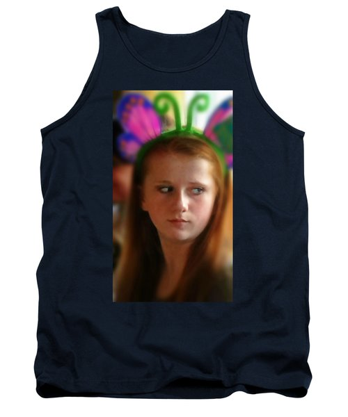 Tank Top featuring the painting Ella by Mindy Newman