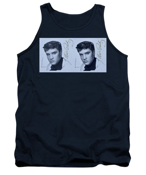 Elvis Stamps Tank Top
