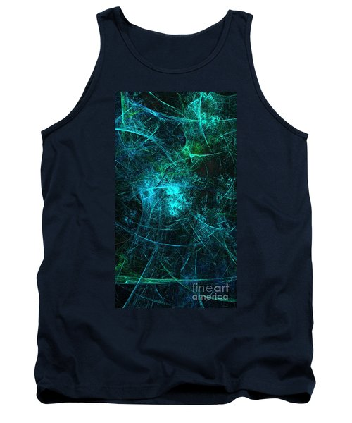 Emerald And Azure Align Tank Top