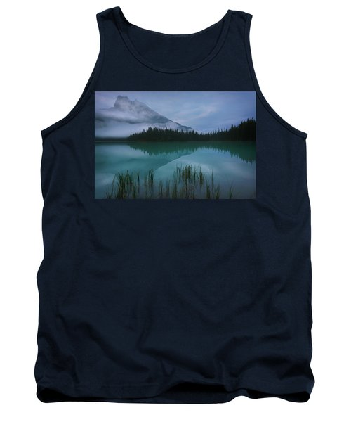 Emerald Lake Before Sunrise Tank Top