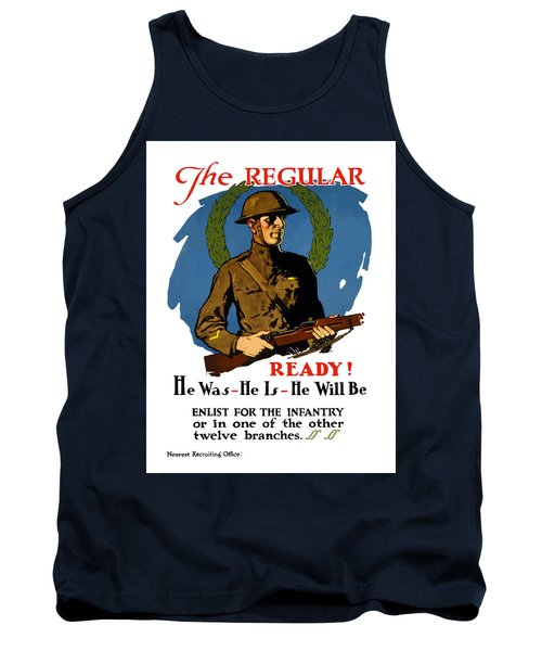 The Regular - Enlist For The Infantry Tank Top