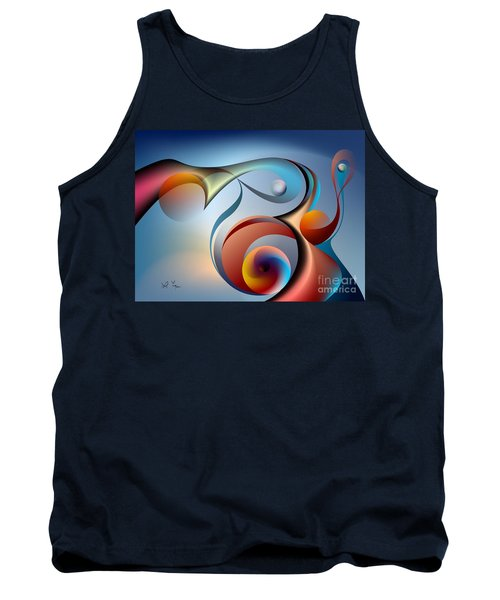 Eternal Movement - Wrapping Tank Top by Leo Symon
