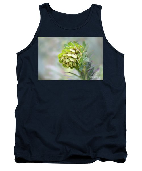 Tank Top featuring the photograph Euphorbia by Linda Lees