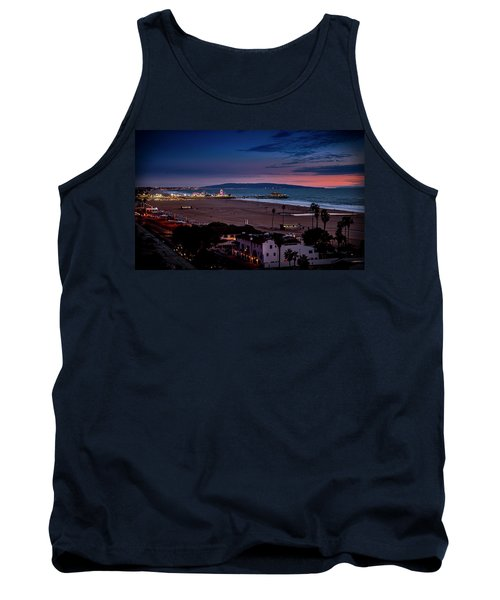 Evening Glow On The Pier Tank Top