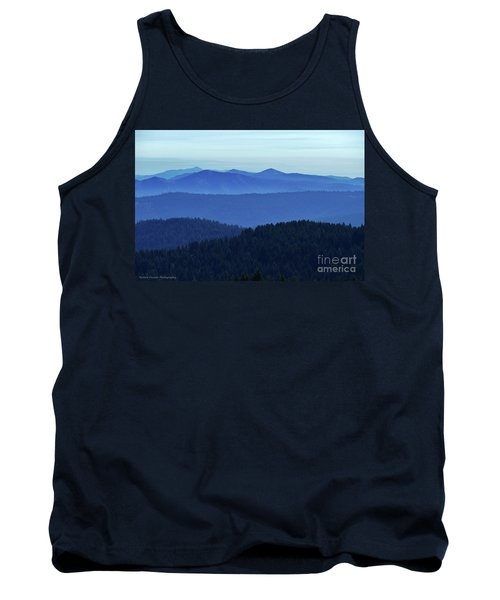 Oregon Blues  Tank Top