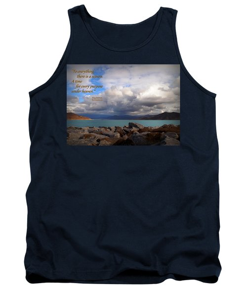 Everything Has Its Time - Ecclesiastes Tank Top