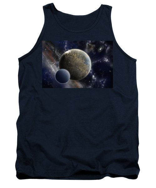 Exosolar Worlds Tank Top