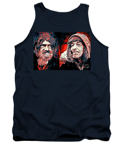 Tank Top featuring the digital art Expressions by Zedi