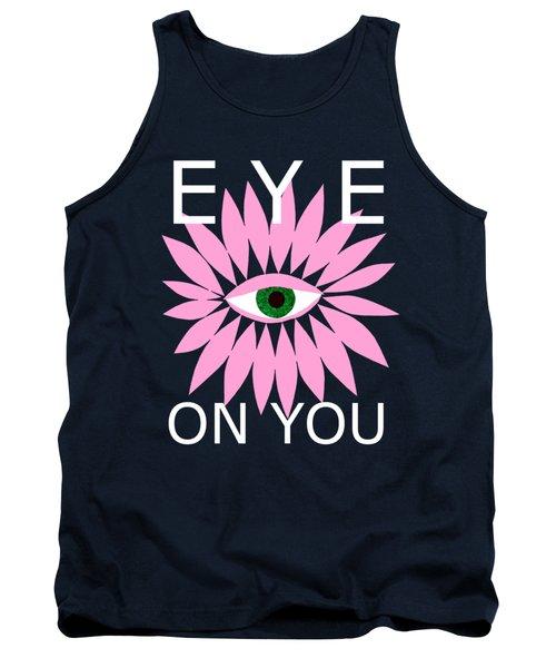 Eye On You - Black Tank Top