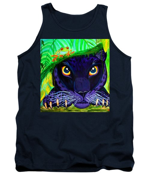 Eyes Of The Rainforest Tank Top by Nick Gustafson