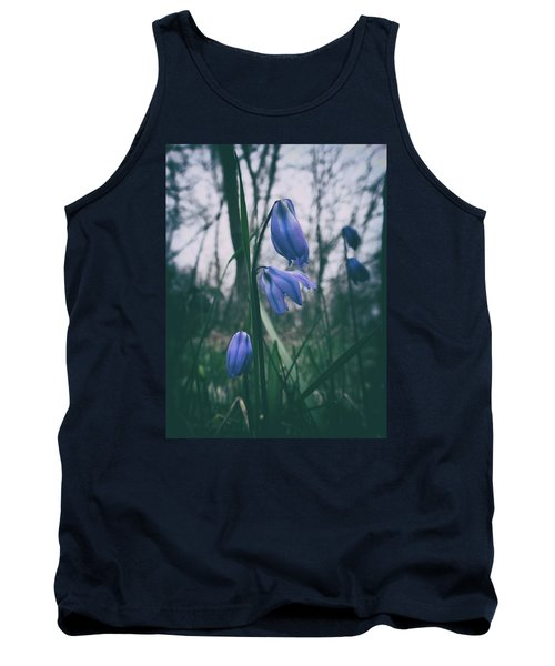 Fade Into The Blue Tank Top by Karen Stahlros