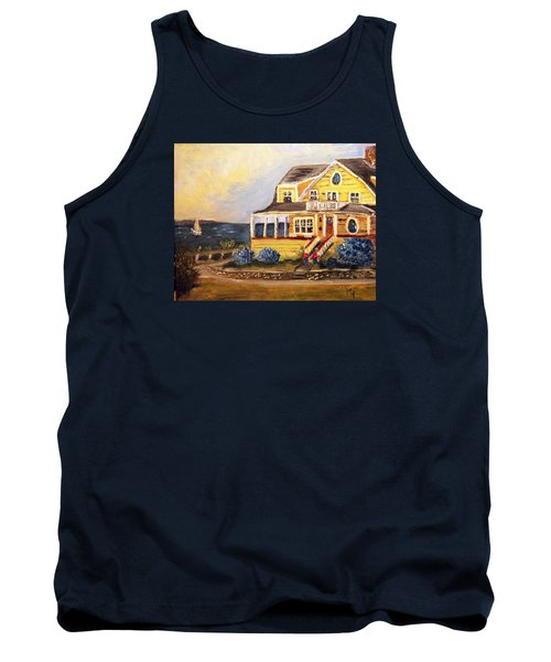 Falmouth Heights View Of Vineyard  Tank Top