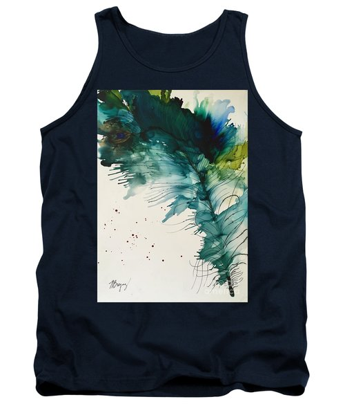 Fancy Feather Tank Top