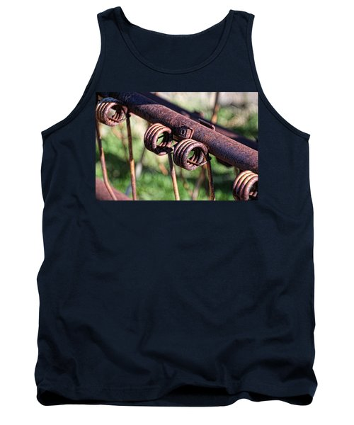 Tank Top featuring the photograph Farm Equipment 6 by Ely Arsha
