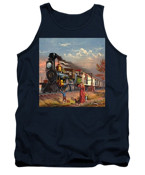 Fast Mail 1875 Tank Top by Padre Art
