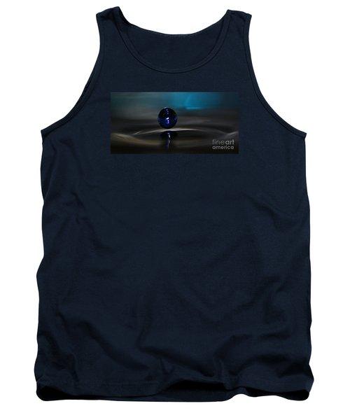 Feeling Blue Tank Top by Kym Clarke