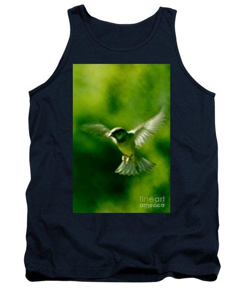 Feeling Free As A Bird Wall Art Print Tank Top by Carol F Austin