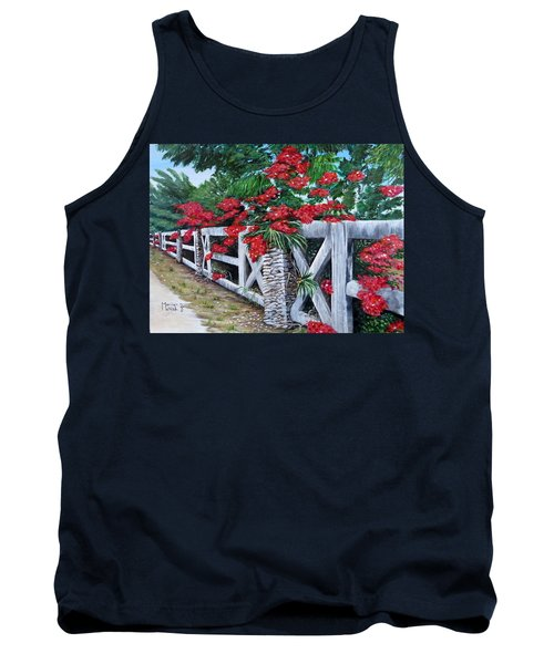 Fence Line Tank Top