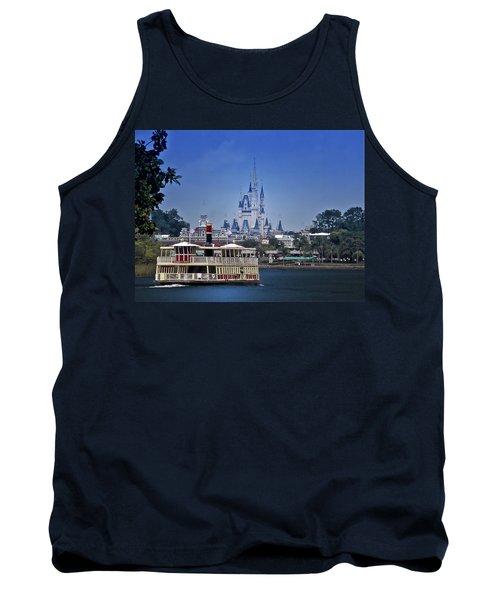 Ferry Boat Magic Kingdom Walt Disney World Mp Tank Top