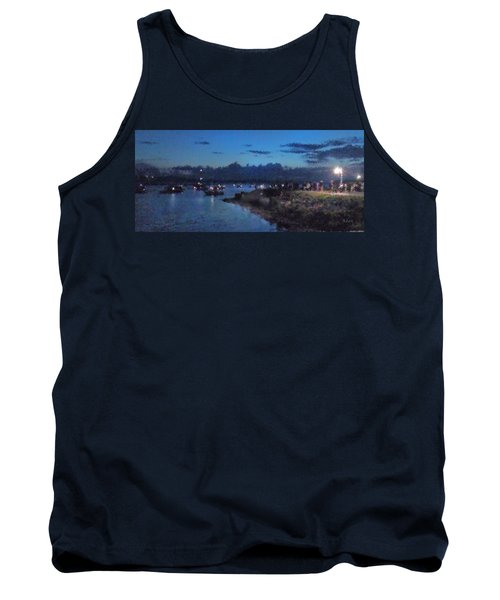 Tank Top featuring the photograph Festival Night Land And Shore by Felipe Adan Lerma