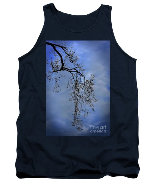 Tank Top featuring the photograph Filigree From On High by Skip Willits
