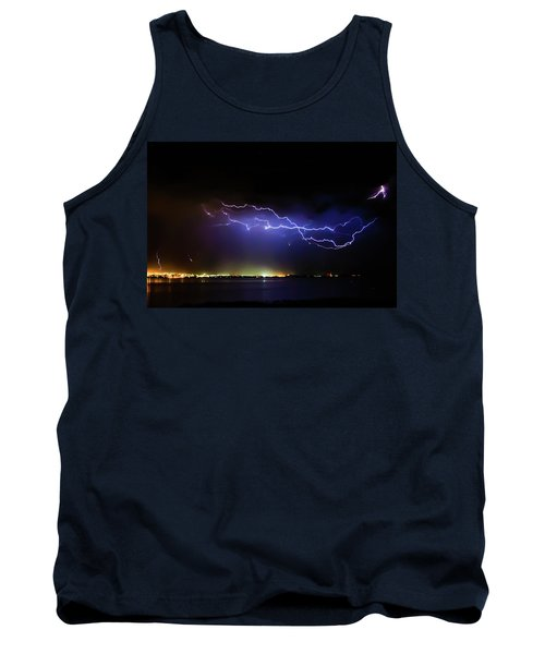 Fingers Across The Lake Tank Top