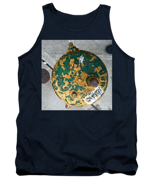 Fire Hydrant #2 Tank Top by Suzanne Lorenz