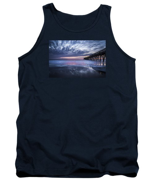 Fire On The Water Tank Top