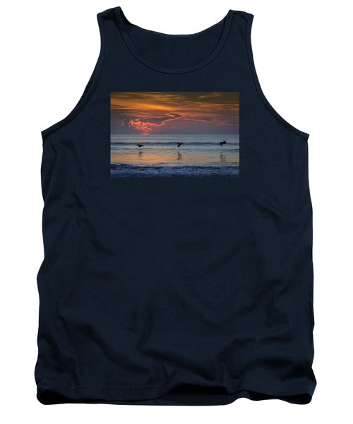 Tank Top featuring the photograph First Flight First Light by Steven Sparks