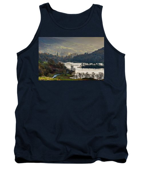 First Light Over Rydal Water In The Lake District Tank Top