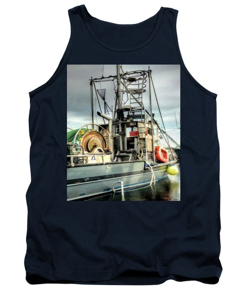 Fishing Boat Rigging Tank Top by Greg Sigrist