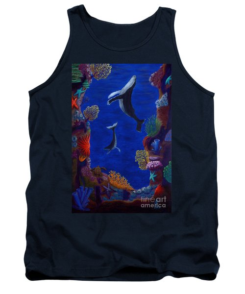 Floating Whales Tank Top
